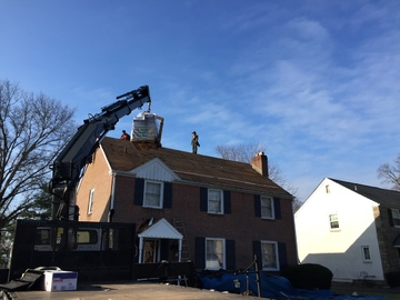 Roof Installation in Roslyn, PA for disabled Veteran