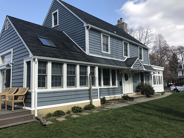Nexgen Exterior Home Remodeling - Home - After Siding - Flat Roof Abington