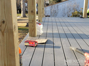 Deck Replaced With Trex Decking and Pergola