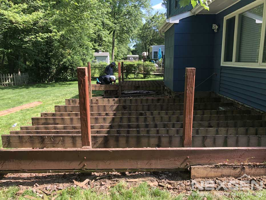 Cherry Hill, NJ Deck Replacement