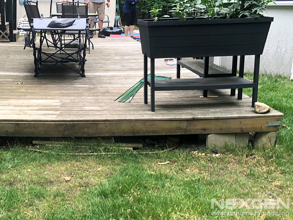 Deck Replacement in Franklinville