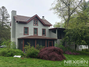 Roof Replacement in Wayne - Before