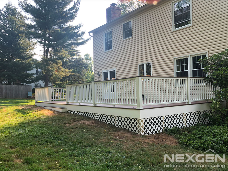Deck Expansion in Blue Bell