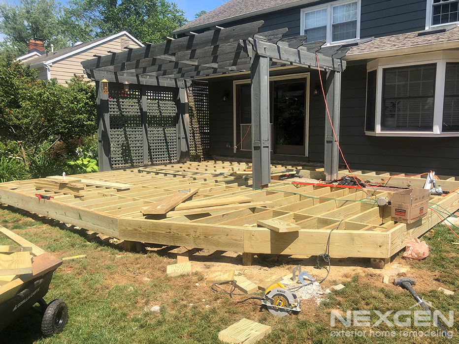 Deck Installation in Cherry Hill
