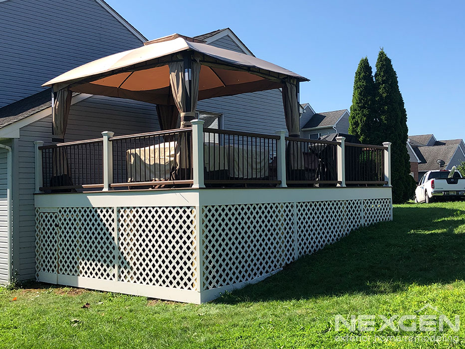 Deck Replacement Finished in Bensalem