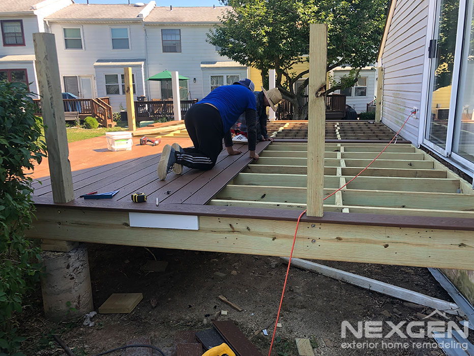 Deck Replacement Progress in Bensalem