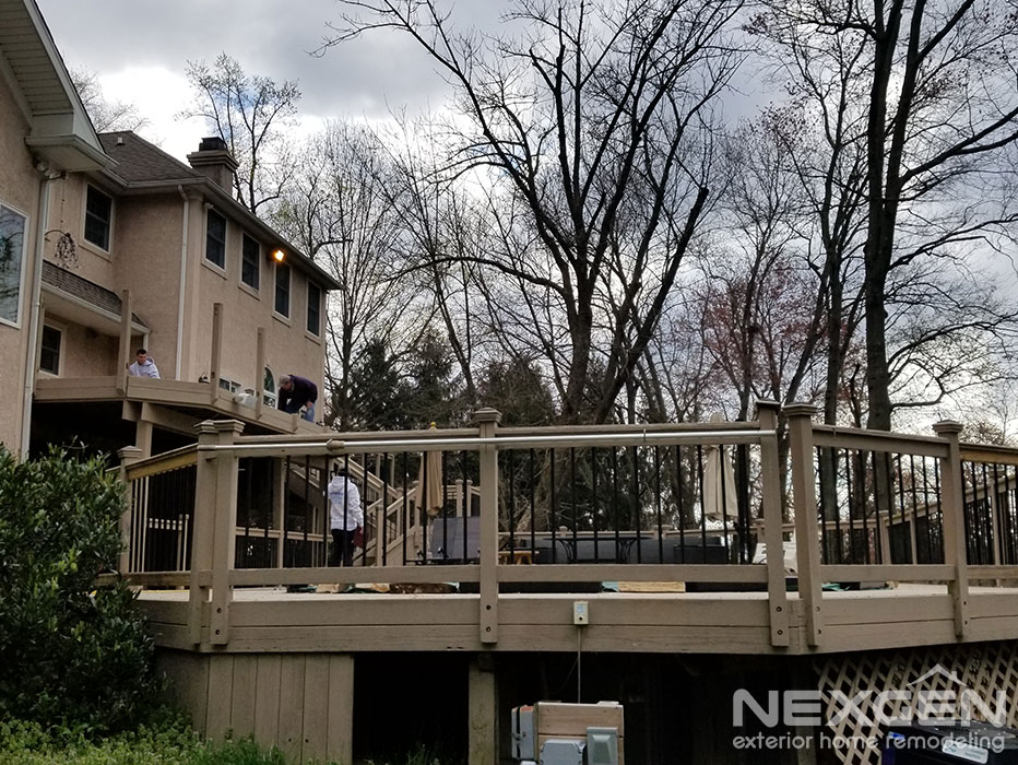 Multi-level Deck Replacement in Warrington