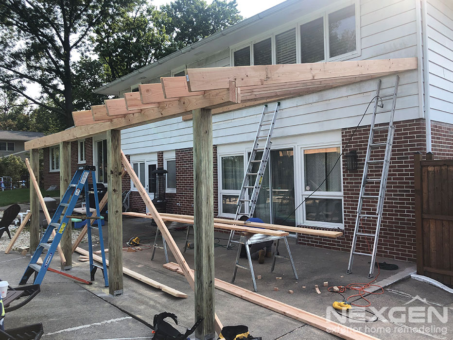 Porch Installation in Lansdale