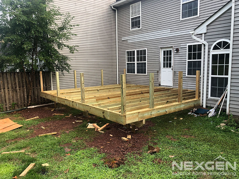 New Deck Installation in Branchburg