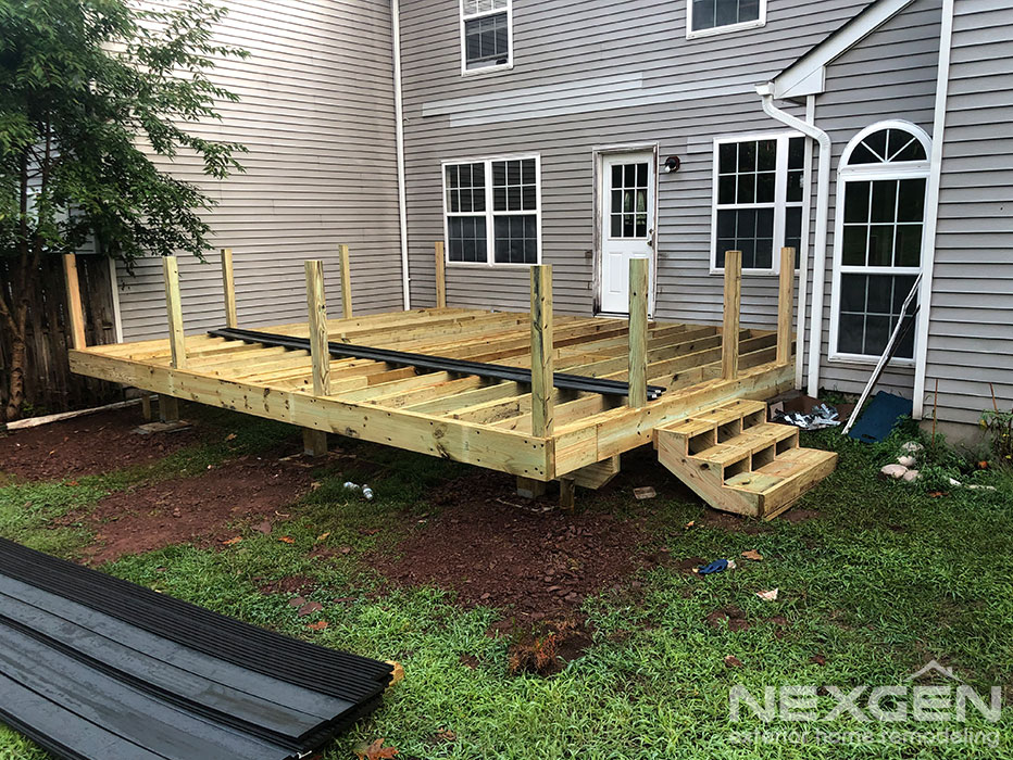 Deck Installation in Branchburg