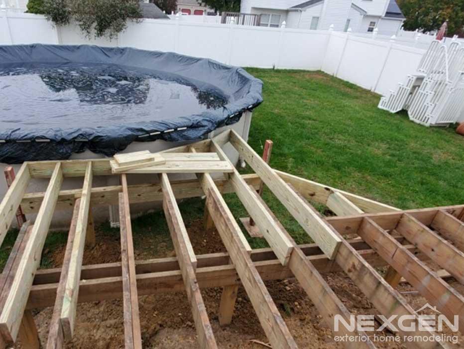 Glassboro Deck Extension Progress