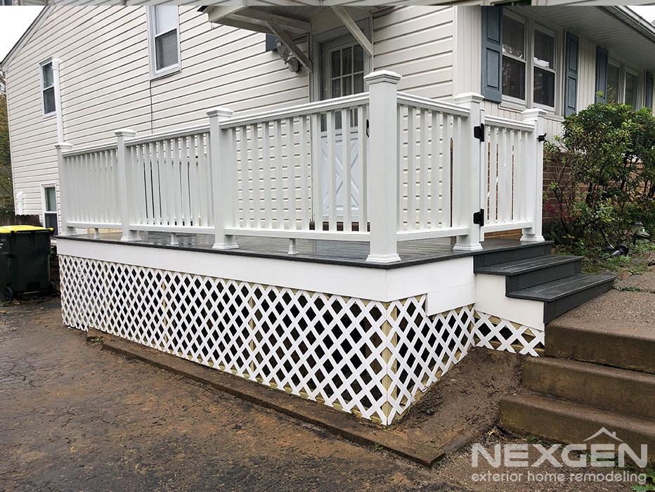 Small Deck Designs for Porches