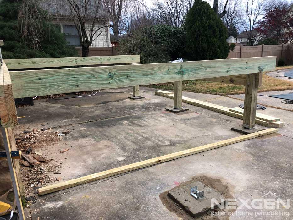 Collingswood NJ New Deck Installation