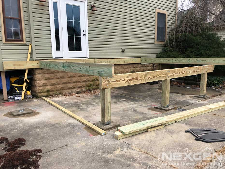 New Deck Installation Collingswood NJ