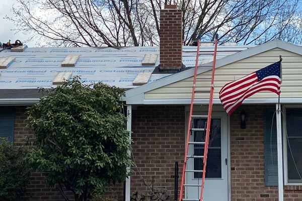 Roof Replacement for Home Remodel