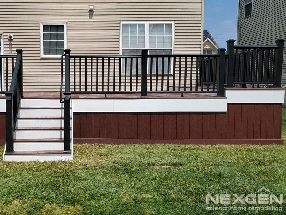New Deck Installation in Bordentown NJ