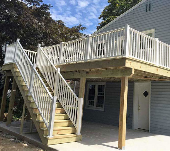 Wood Deck Replacement