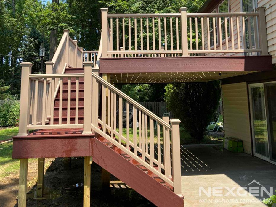 Composite Replacement Deck in Willingboro, NJ