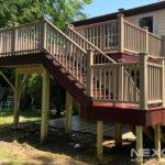 Composite Replacement Deck in Willingboro